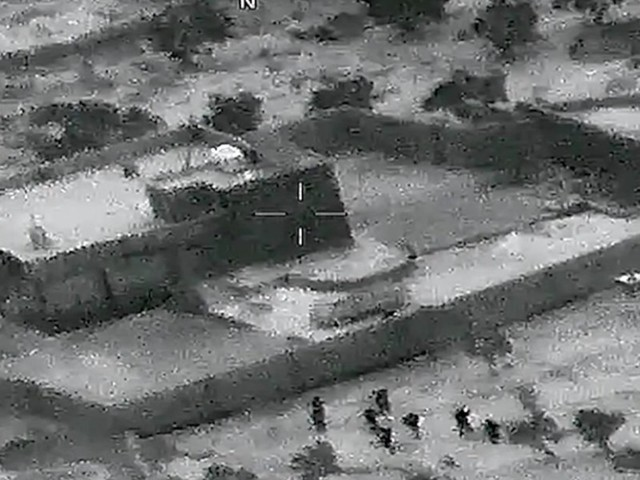 Pentagon releases drone video from raid on ISIS leader's compound