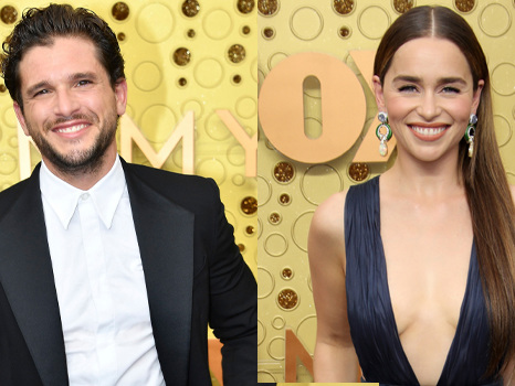 'Game Of Thrones' Cast At Emmys: Kit Harington, Emilia Clarke & More Reunite For Final Send-Off