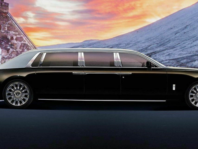 23-Footlong Armored Rolls-Royce Phantom Limo Is A Dictator's Wet Dream