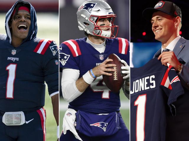 Jarrett Stidham is the Patriots' forgotten third quarterback