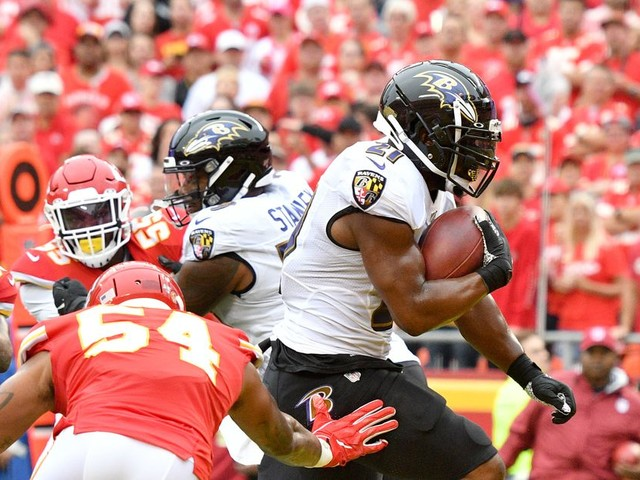 The Ravens learned a lesson: Running the ball is still their identity