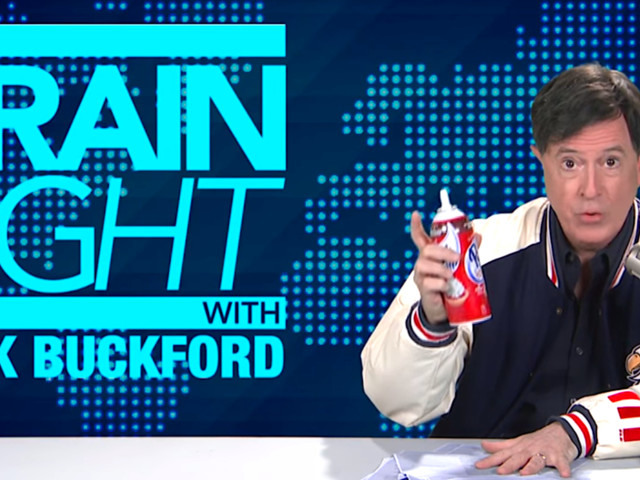 Stephen Colbert Spoofs Alex Jones, Offers To Be Donald Trump's Poison Tester
