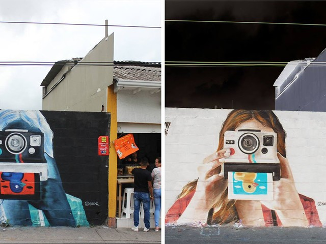 This Negative Mural Can Be Developed by Inverting Your Photo