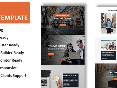 Bell - Multipurpose Responsive Email Template With Online StampReady Builder Access (Newsletters)
