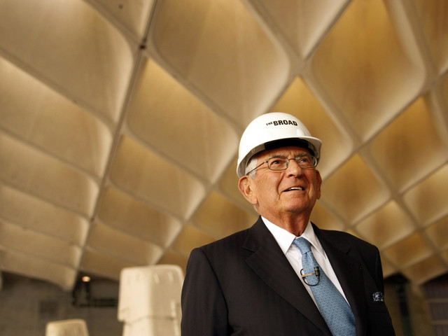 Eli Broad, a top L.A. philanthropist and power broker, is retiring from his foundation
