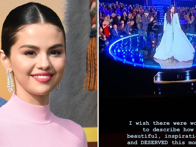 Selena Gomez Gave Demi Lovato a Heartfelt Shout-Out on Instagram During the Grammys