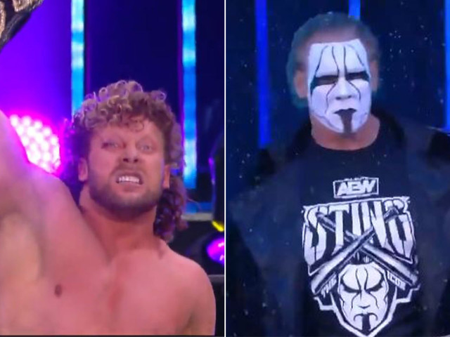 Kenny Omega wins AEW title, Sting debuts on loaded Dynamite