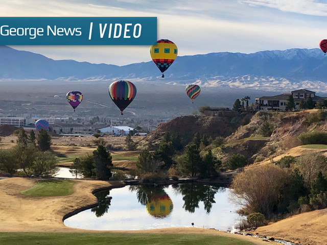 Mesquite Hot Air Balloon Festival fills the skies with romance and magic