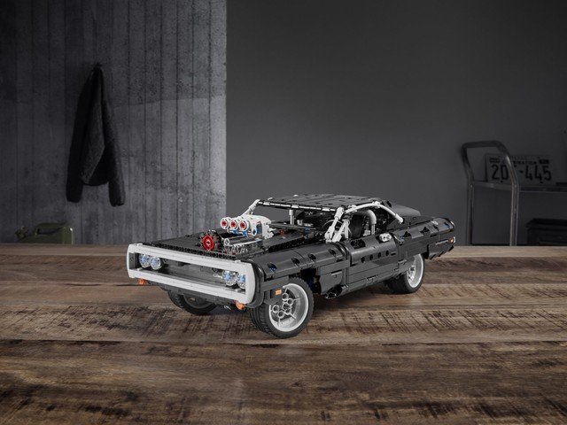 "When you build Lego's new 1,077-piece ""Fast & Furious"" 1970 Dodge Charger, you're family"