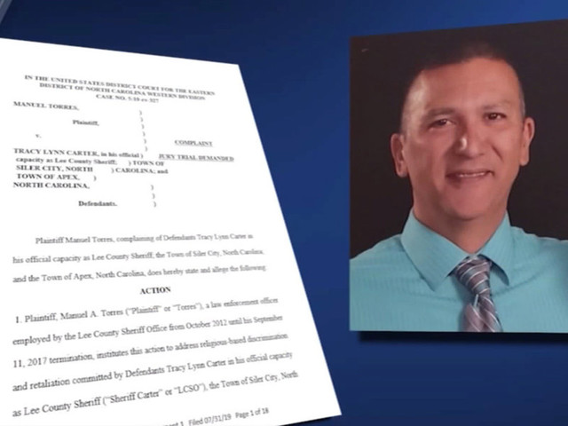 North Carolina police officer suing after he says he was fired for following the 'Billy Graham Rule'