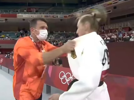 Watch: Olympic Judo Coach Under Fire For 'Brutally' Slapping Female Athlete In Warm-Up Ritual