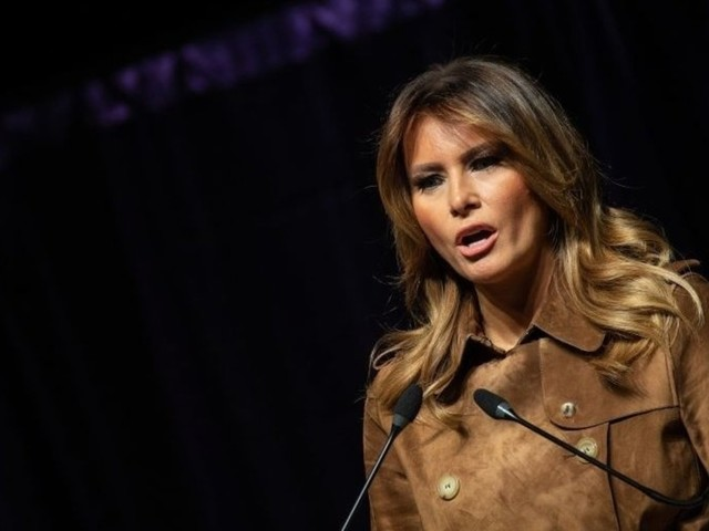 Crowd boos first lady Melania Trump at youth opioid event on the same day her husband donates his salary to fight the crisis