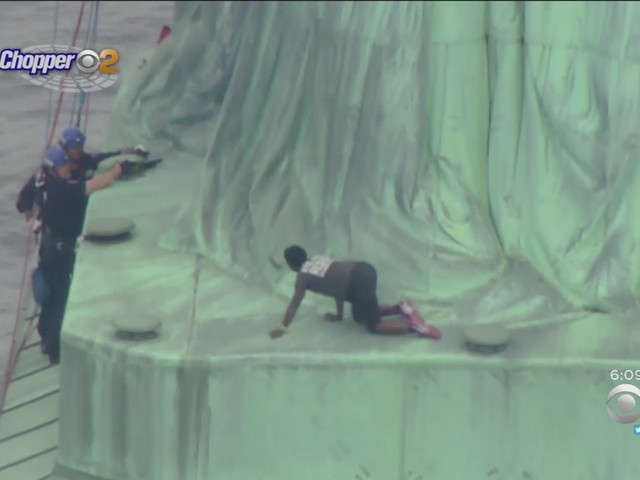 Judge Set To Sentence Statue Of Liberty Climber Says She, Too, Wants To Scale Lady Liberty