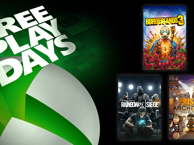 Free Play Days – Borderlands 3, Rainbow Six Siege, And Prison Architect: Xbox One Edition