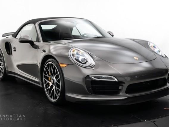 2015 Porsche 911--Turbo--S--Cabriolet