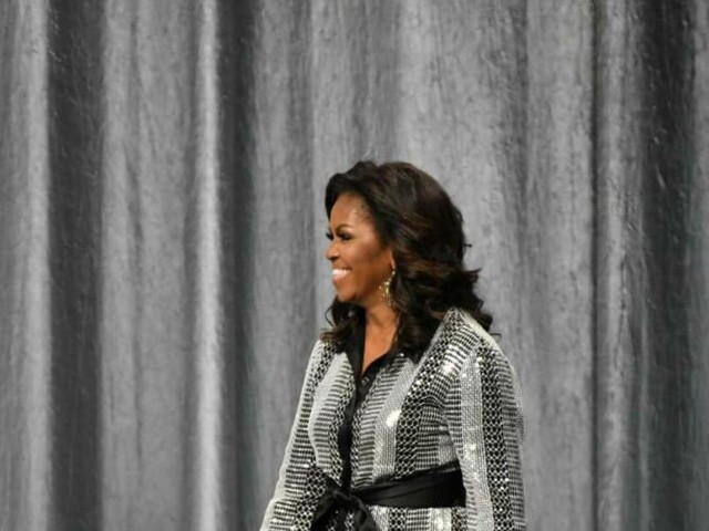 D-Nice, Michelle Obama hold voter-registration party