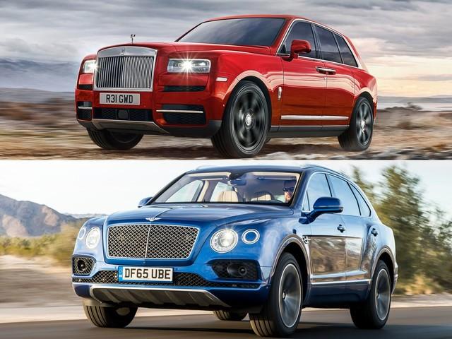 Refreshing or Revolting: Rolls-Royce Cullinan vs. Bentley Bentayga