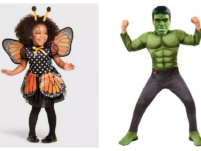 Today Only! 40% Off Halloween Costumes & Accesories at Target | Toddler Costumes Starting at $9.00 & More!