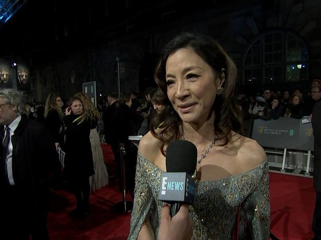 Michelle Yeoh Reminisces Over Her First BAFTAs