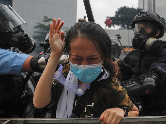 As Hong Kong fights for its life, an embarrassed China has only violence to offer