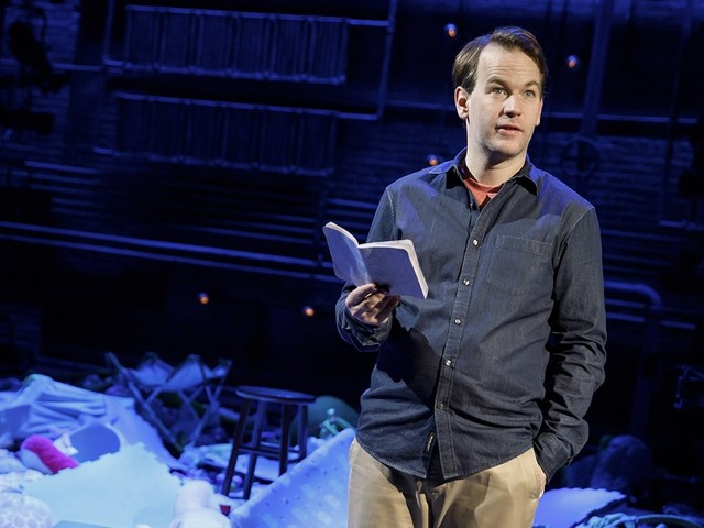 Comedian Mike Birbiglia on feeling lost, isolated, and reluctant when it comes to fatherhood