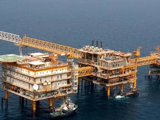 China And Iran Start Drilling In This Super Giant Gas Field
