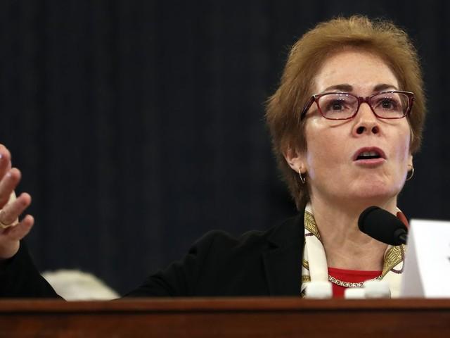 Democrats probe emotions in impeachment testimony form ousted Ambassador Marie Yovanovitch