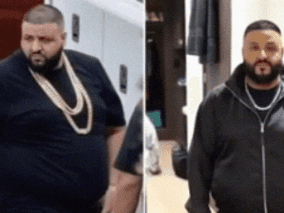 New Details About DJ Khaled's Weight Loss — Including His Before And After Pics