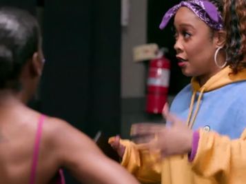 Drea Kelly And Da Brat Have A Confrontation Over Dancing…Or R.Kelly.