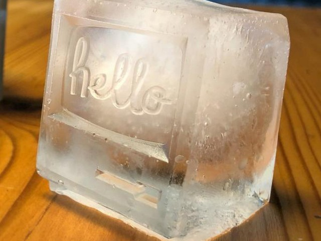 Review: Cozy's 'Drink Different' Molds Turn Your Ice Into Vintage Macs