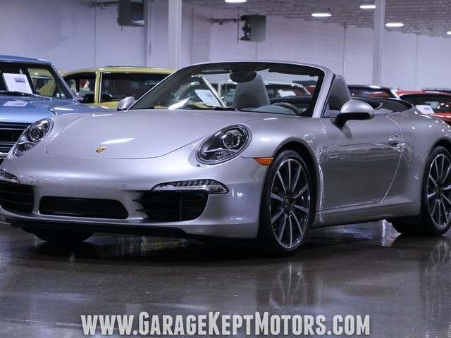 2012 Porsche 911--Carrera--S--Cabriolet