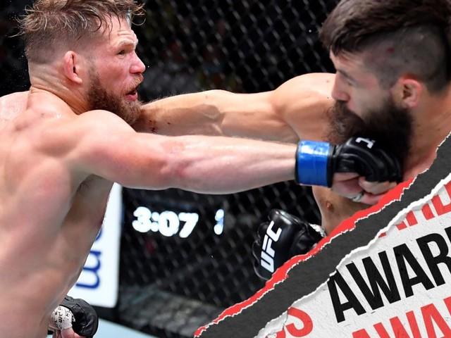 UFC Vegas 33: Hall vs. Strickland - Unofficial Awards