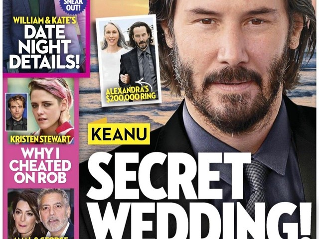 Keanu Reeves, Alexandra Grant Planning Secret Wedding In Malibu?