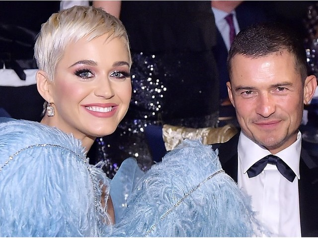 Katy Perry and Orlando Bloom Make a Rare (Yet Very Glamorous) Public Appearance Together