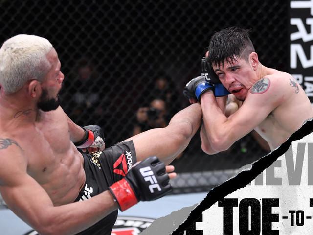 UFC 263: Deiveson Figueiredo vs. Brandon Moreno Toe-to-toe preview - A complete breakdown
