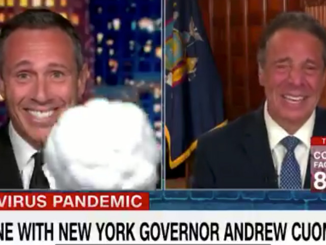 Chris and Andrew Cuomo joke around on air, don't address nursing home COVID-19 deaths caused by governor's policy