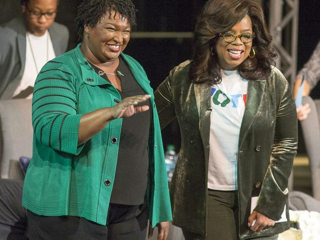 Oprah gave an incredible speech in Georgia as she campaigned for Stacey Abrams