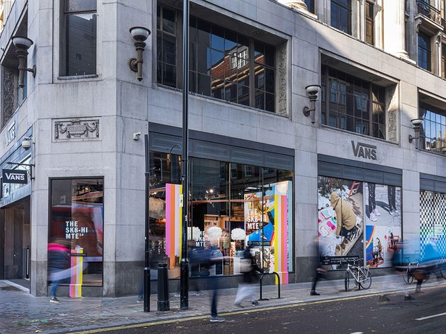 Vans to open its largest European store on Oxford Street