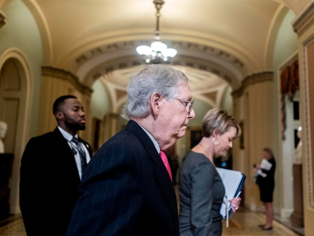 McConnell tells senators he doesn't have votes to block witnesses in Trump impeachment trial