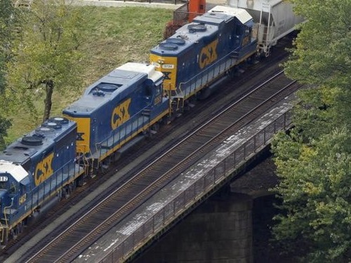 One of the US's largest railroads just slashed its profit forecast and gave a dire warning about President Trump's trade war (CSX)