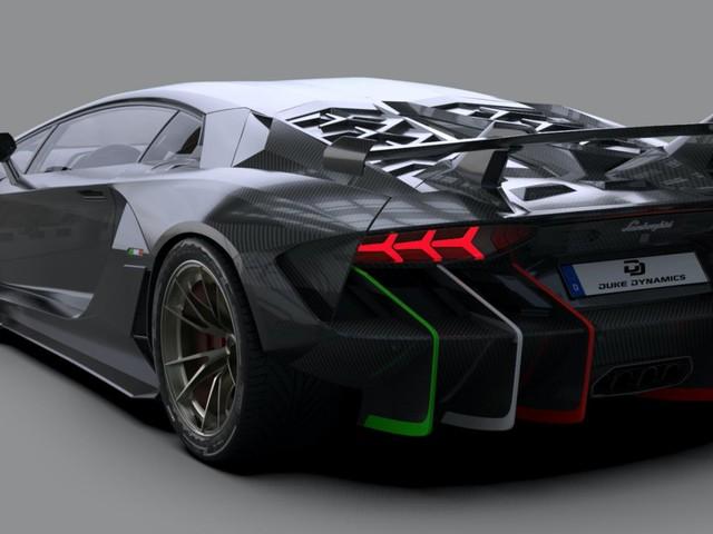 Duke Dynamics' Centenario-Inspired Lambo Aventador Widebody Kit Costs $50K