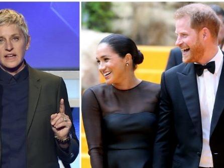 Ellen DeGeneres Defends Meghan Markle, Prince Harry from Private Jet Criticism