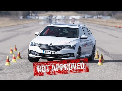 Skoda Superb iV And VW Passat GTE Both Failed The Moose Test
