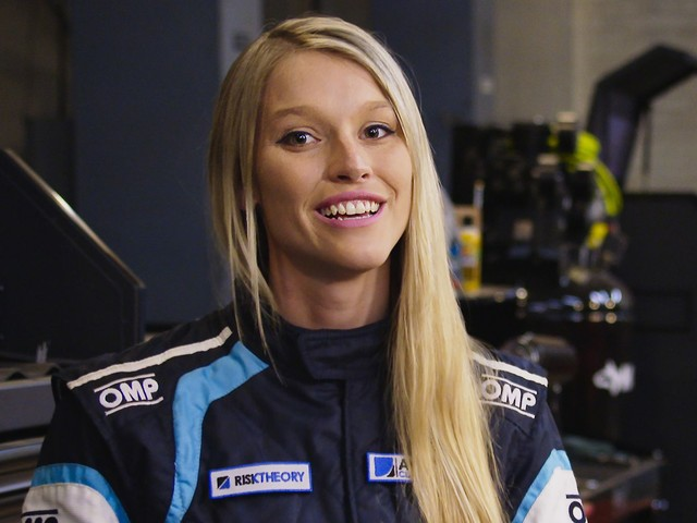 Brittany Williams Of Netflix' Hyperdrive Tells Us What It's Like To Be A Woman In Motorsports