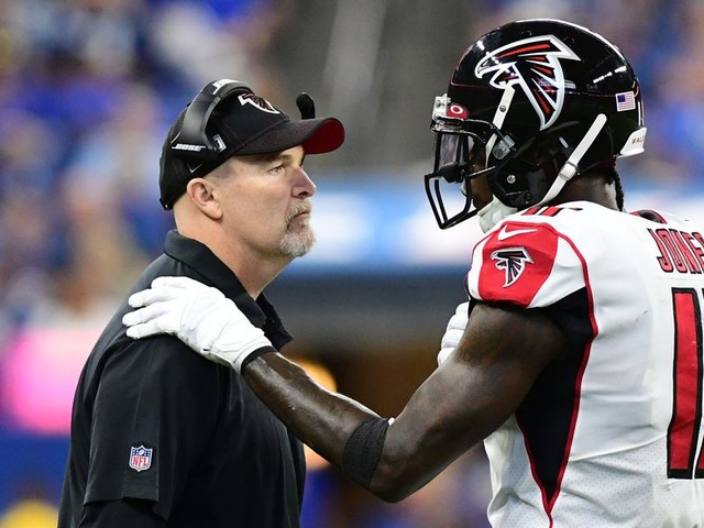 Dan Quinn is giving the Falcons every reason to fire him