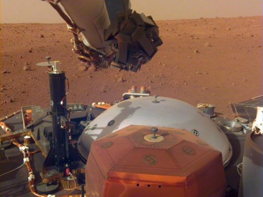 Listen to the soothing sounds of Martian wind collected by NASA's InSight lander