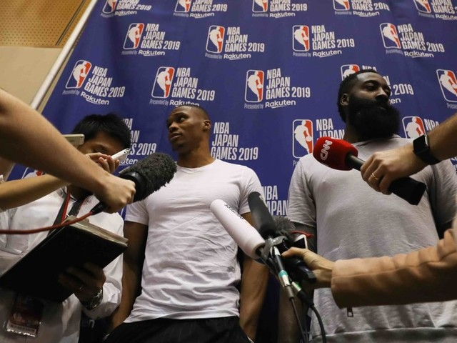 NBA apologizes to reporter who was stopped from asking Houston Rockets stars about the recent China debacle