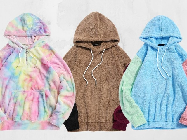 This teddy pullover on Amazon is the comfiest thing you'll own
