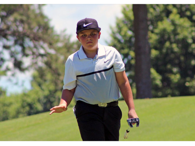 13-year-old John Daly II earns his first hole-in-one