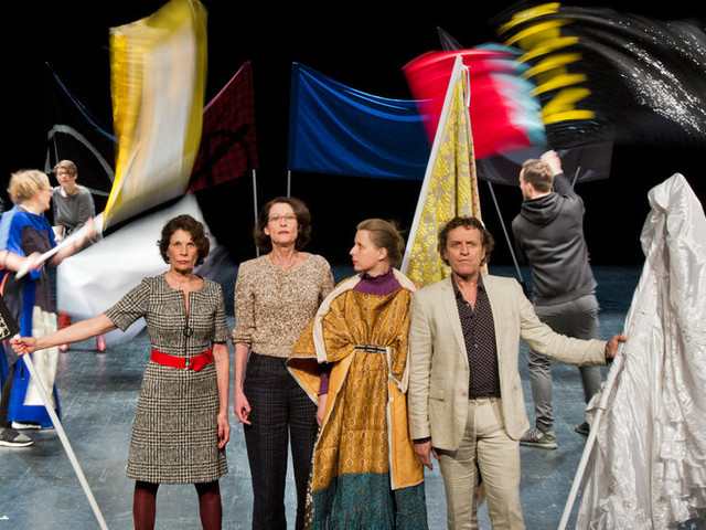 Theater Review: A Festival of German Theater, Where More Is More